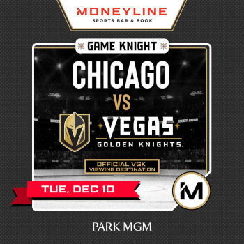 Game KNIGHT: Chicago vs VGK - Tue Dec 10