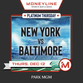 Platinum Thursday: New York vs. Baltimore - Thu Dec 12
