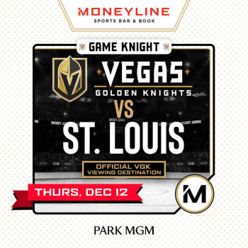 Game KNIGHT: St. Louis vs VGK - Thu Dec 12