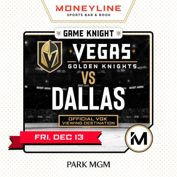 Game KNIGHT: Dallas vs VGK - Fri Dec 13