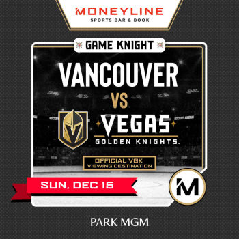 Game KNIGHT: Vancouver vs VGK - Sun Dec 15