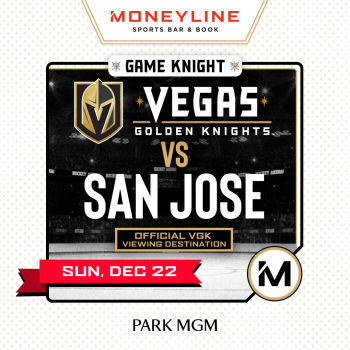 Game KNIGHT: San Jose vs VGK - Sun Dec 22