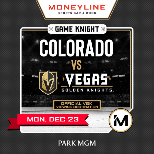 Game KNIGHT: Colorado vs VGK