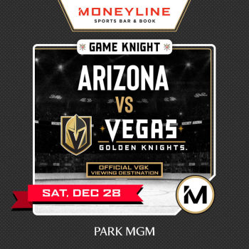 Game KNIGHT: Arizona vs VGK - Sat Dec 28