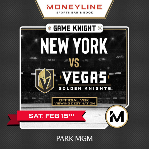 Game KNIGHT: New York vs VGK - Moneyline Sports Bar & Book