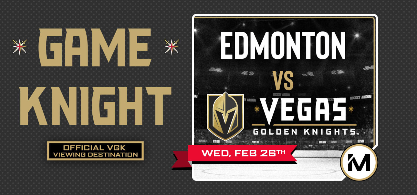 Game KNIGHT: Edmonton vs VGK