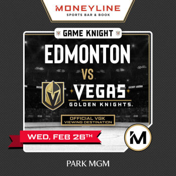 Game KNIGHT: Edmonton vs VGK - Wed Feb 26