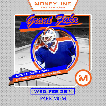 Grant Fuhr - Edmonton Oiler's Legend - Meet & Greet - Wed Feb 26