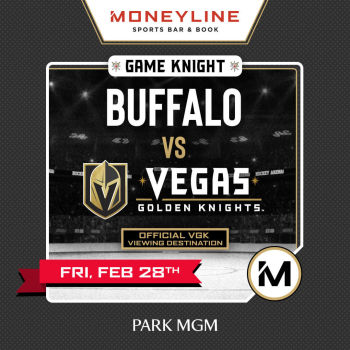 Game KNIGHT: Buffalo vs VGK - Fri Feb 28