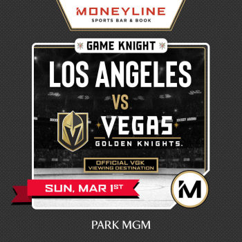 Game KNIGHT: Los Angeles vs VGK - Sun Mar 1