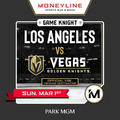 Game KNIGHT: Los Angeles vs VGK, Sunday, March 1st, 2020