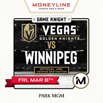 Game KNIGHT: VGK vs Winnipeg - Fri Mar 6