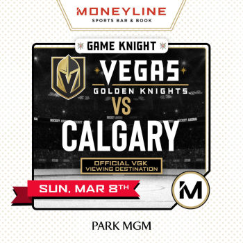 Game KNIGHT: VGK vs Calgary - Sun Mar 8