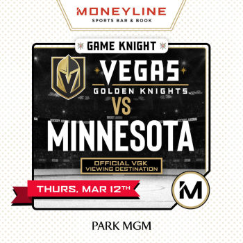 Game KNIGHT: VGK vs Minnesota - Thu Mar 12