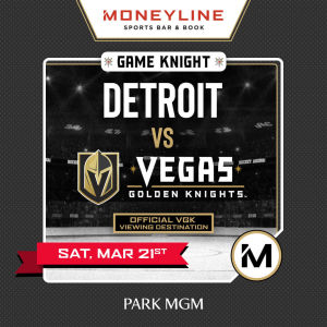 Game KNIGHT: Detroit vs VGK, Saturday, March 21st, 2020