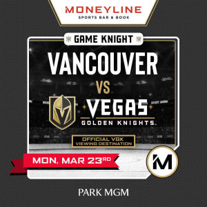 Game KNIGHT: Vancouver vs VGK, Monday, March 23rd, 2020