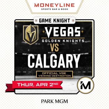Game KNIGHT: VGK vs Calgary - Thu Apr 2