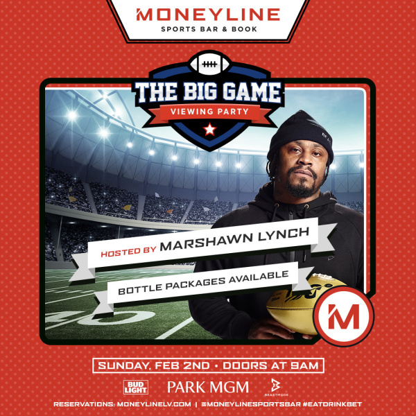 Big Game Sunday: Hosted by Marshawn Lynch