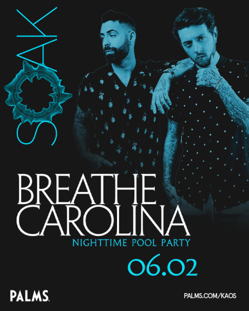 SOAK Sundays with Breathe Carolina - SOAK