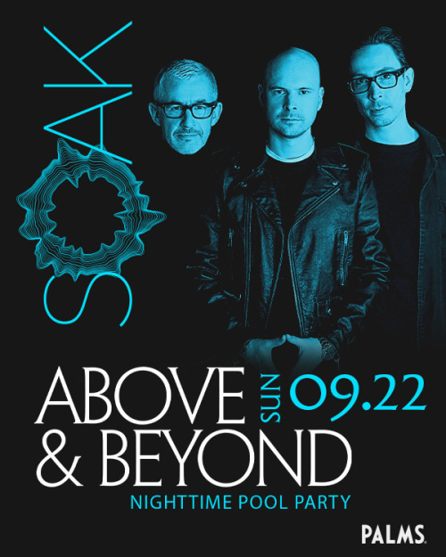 SOAK Sundays with Above & Beyond - SOAK