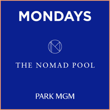 Monday's at NoMad Pool - Mon Mar 9