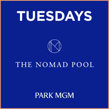Tuesday's at NoMad Pool - Tue Mar 10
