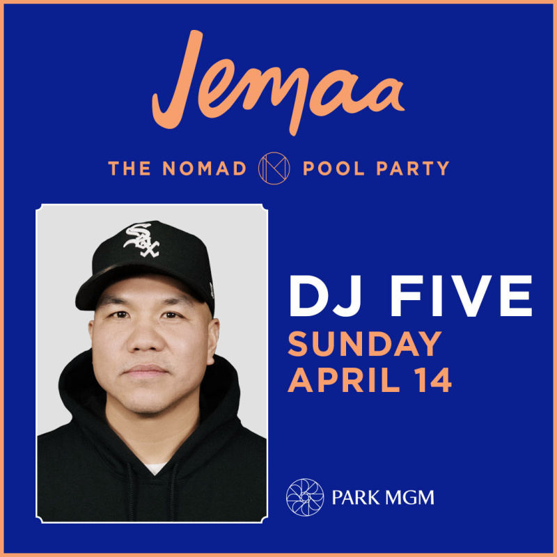 DJ FIVE | The NoMad Pool Party | The Best of Las Vegas Pools