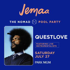 QUESTLOVE, Saturday, July 27th, 2019