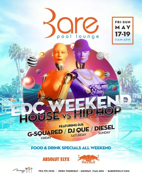 EDC Weekend - Bare Pool