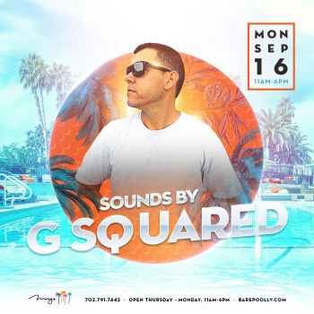 Bare Industry Monday's W/ DJ G Squared - Mon Sep 16