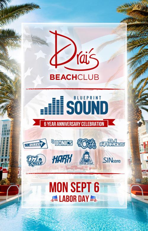 Blueprint Sound Takeover at Drai's Beach Club thumbnail