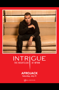 Afrojack at Intrigue