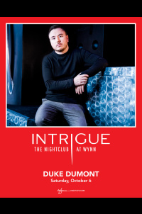 Duke Dumont at Intrigue