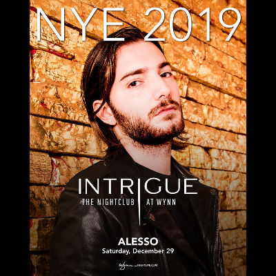 Alesso, Saturday, December 29th, 2018