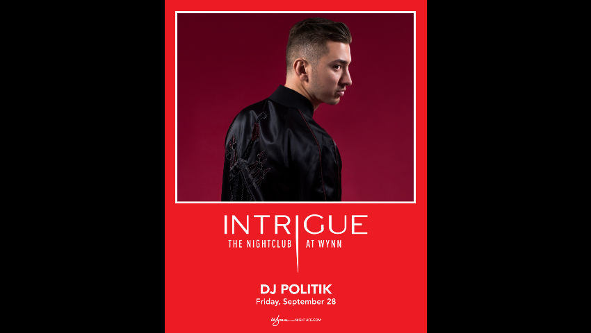 DJ Politik at Intrigue