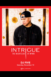 DJ Five at Intrigue