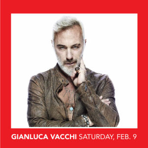 Gianluca Vacchi, Saturday, February 9th, 2019