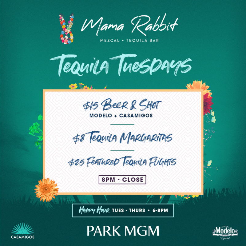 Best Tequila 2020.Tequila Tuesdays Mama Rabbit The Best Of Las Vegas Bars