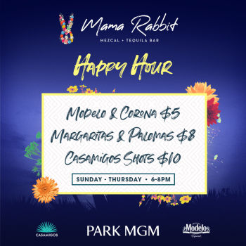 Happy Hour - Mon Nov 11