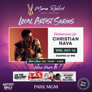 Industry Night Local Artist Series, Wednesday, October 16th, 2019