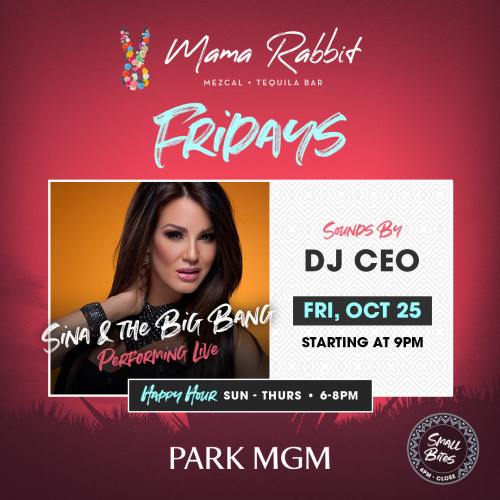 Fridays with Sina And The Big Bang - Mama Rabbit