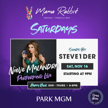 Saturdays with Nieve Malandra - Sat Nov 16