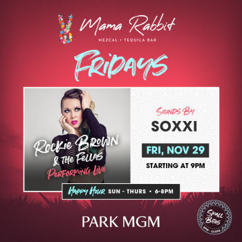 Fridays with Rockie Brown & The Fellas - Fri Nov 29