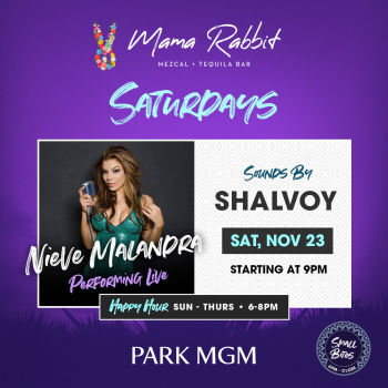 Saturdays with Nieve Malandra - Sat Nov 23