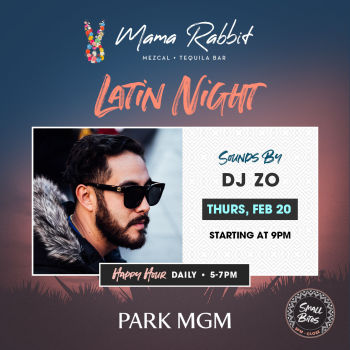 Latin Thursday's with DJ Zo - Thu Feb 20
