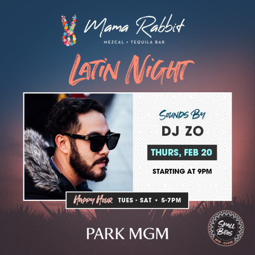 Latin Thursday's with DJ Zo - Mama Rabbit