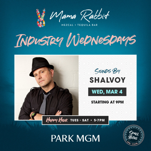 Industry Wednesday's with Shalvoy - Mama Rabbit