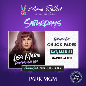 Saturday's with Lisa Marie Band, Saturday, March 21st, 2020