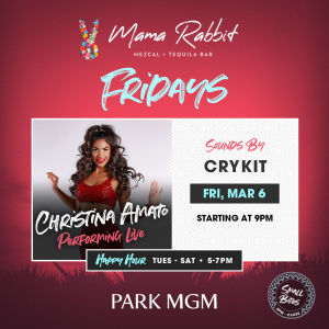 Friday's with Christina Amato, Friday, March 6th, 2020