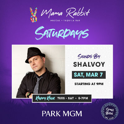 Saturday's with Shalvoy, Saturday, March 7th, 2020